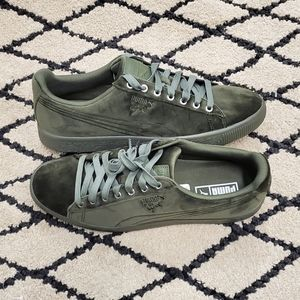 Puma Clyde Velour Ice Casual Sneakers
